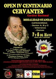 OPEN ALONSO QUIJANO P. Standard 7-8 mayo