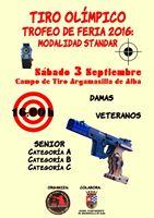 3 septiembre. Pistola Standard Argamasilla