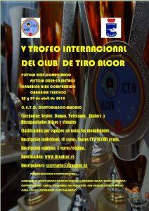 V Trofeo Internacional del Club de Tiro Alcor