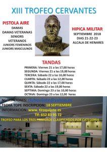 XIII Trofeo Cervantes