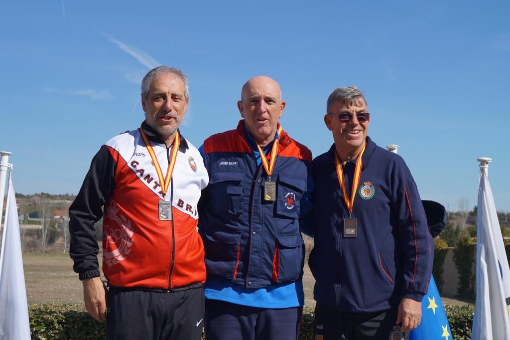 Campeón veteranos Javier Salvat